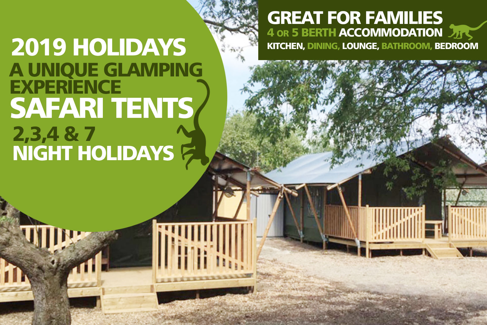 Booking a camping or glamping holiday Dersingham
